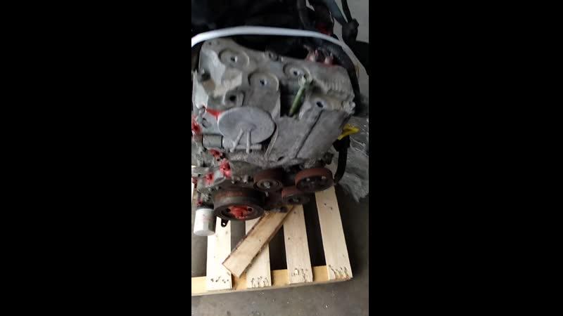 Контрактный мотор на X-trail T31 2.5 от ДостАвто