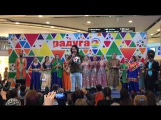 Харшвардхан Ране на фестивале Colors of India в ТРК Питер Радуга .
