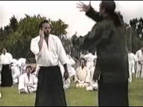 Steven Seagal Aikido Yokomenuchi Tenkan 1