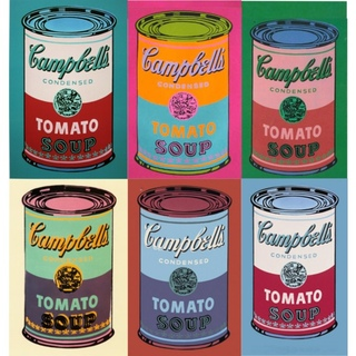 andy warhol campbell's soup - 600×600