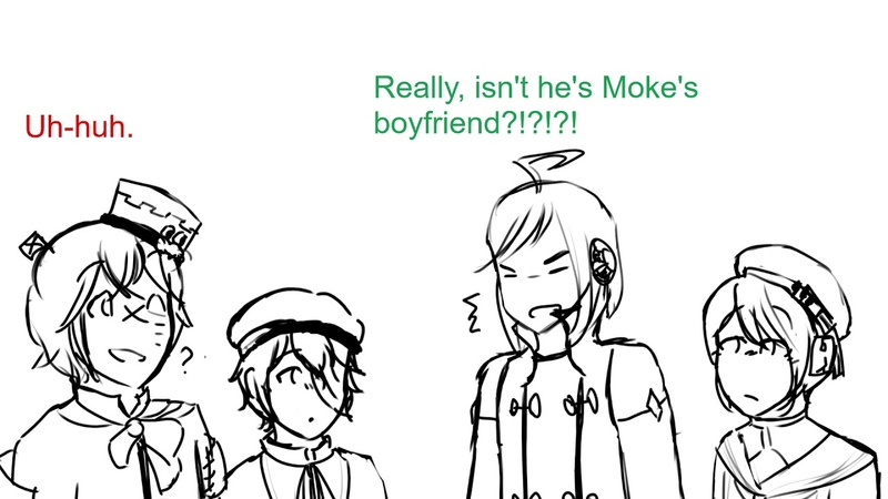 Talkloid So you want your misery buddy Piko Moke Fukase Len Oliver