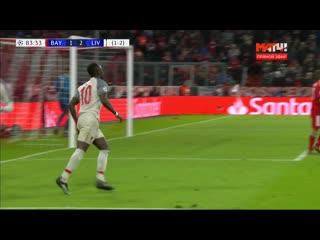 Бавария  Ливерпуль. 1:3. Садио Мане