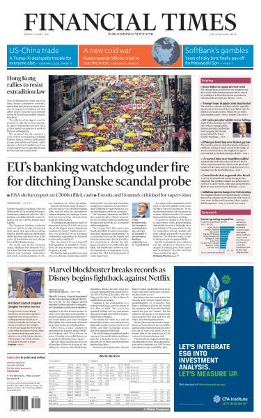 Financial Times USA  April 29 2019