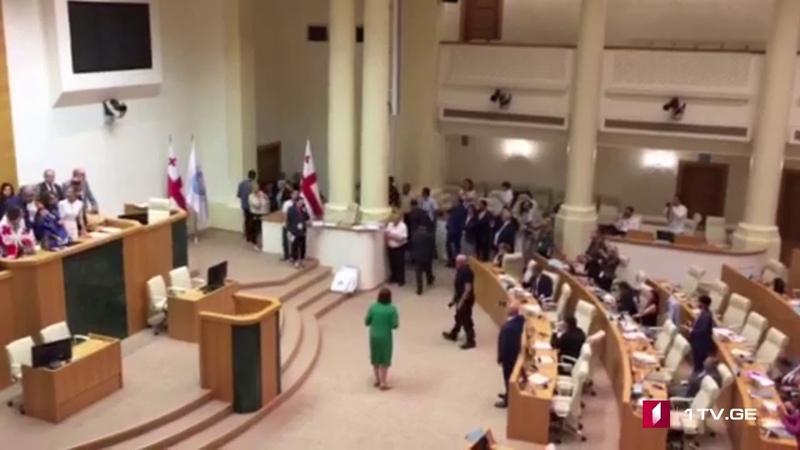 """ემზარ კვიციანმა """"ევროპული საქართველოს დე 43"""