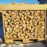 1 куб березовых дров на поддоне