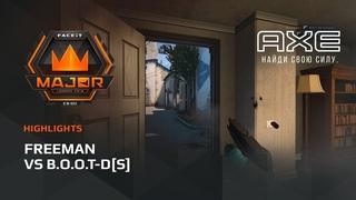 Freeman vs S, Asia Minor  FACEIT Major 2018