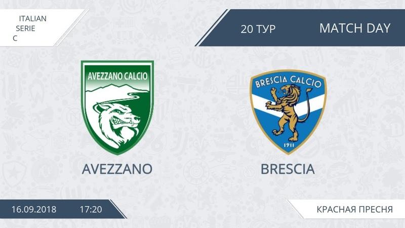 AFL18. Italy. Serie C. Day 20. Avezzano - Brescia