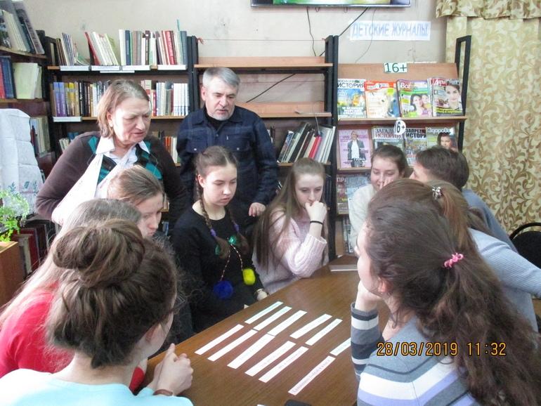 В Библиотеке семейного чтения провели краеведческий конкурс «Изучаем наш город: знакомимся с историей быта»