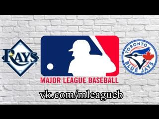 Tampa Bay Rays vs Toronto Blue Jays      AL   MLB 2018 (3/3)