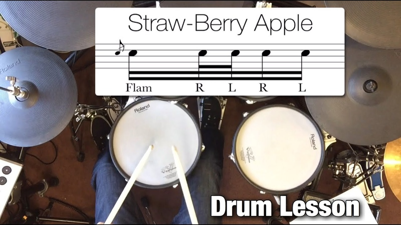 DRUM LESSON: Flam RLR L Fills | by Dex Star