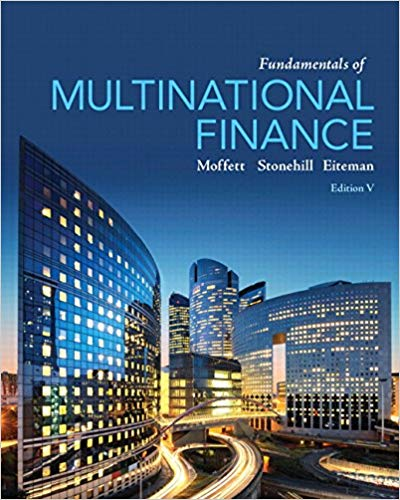 Fundamentals of Multinational Finance 5th Edition