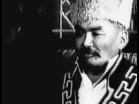 Исполнение эпоса Джангар, примерно 1970. Circa 1970, Jangar Kalmyk Epic.