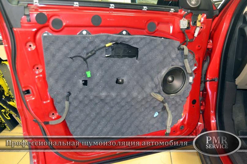 Комплексная шумоизоляция Land Rover Evoque, изображение №18