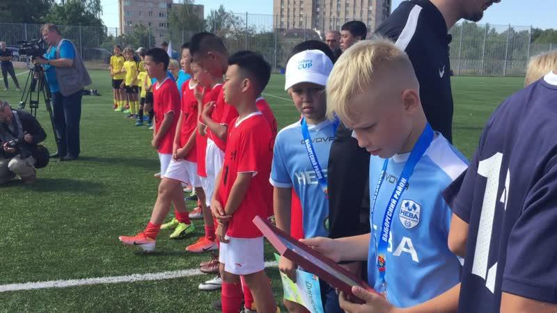 В Выборге завершились игры международного турнира по футболу Vyborg Cup