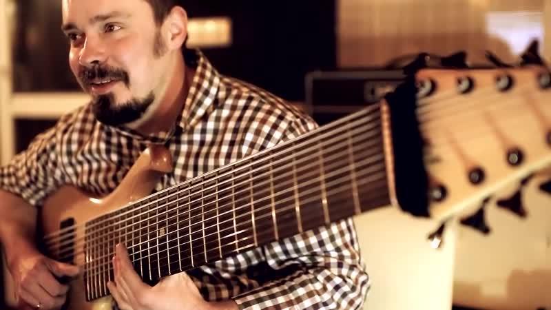 Studijnaya zapis treka Pulse Of The Earth Ulichnyj muzykant Vasilij CHernov 12 strunnyj BAS