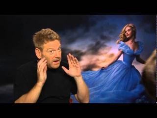 Cinderella interview with Lily James, Richard Madden, Kenneth Branagh & Holliday Grainger