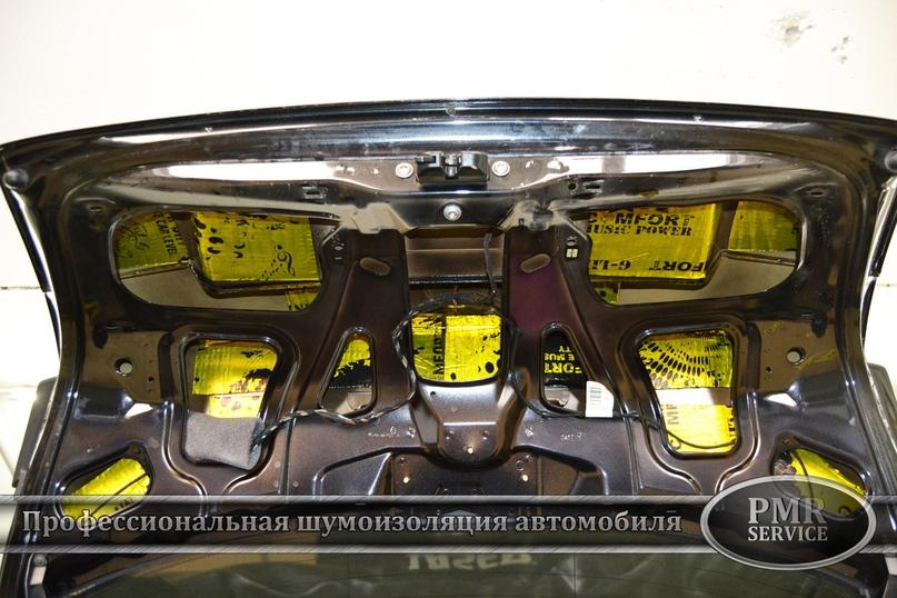 Комплексная шумоизоляция Skoda Octavia A5, изображение №12