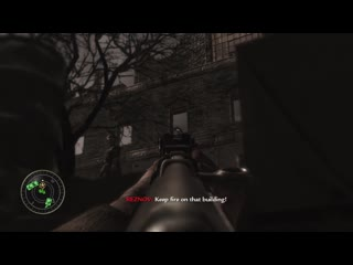 Old clip of me playing heart of the reich on veteran... classic world at war