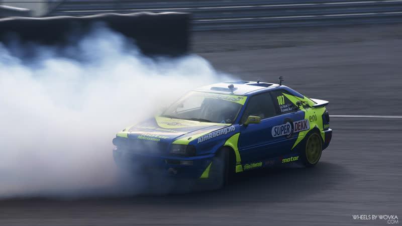 ALM Racing raw footage (AUDI S4, S2 4 wheel drift at Gatebil)