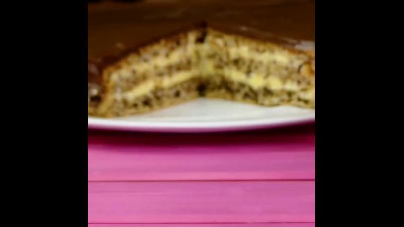 Ореховый торт Больше рецептов на страни рецепты 1080p mp4
