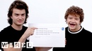 Stranger Things Cast Answer the Web's Most Searched Questions WIRED