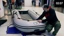 Установка тента на лодку ПВХ Усиление днища на лодке Компас