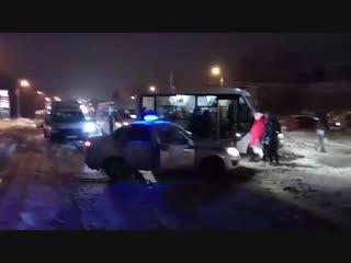 Транспортный коллапс на в Саратове на Молочке