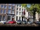 Амстердам Здания канал берег Amszterdam épületek a csatorna partján