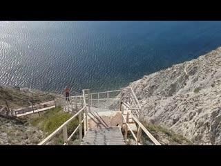 800 #ступеней #Анапа Спуск к #Черному #морю
