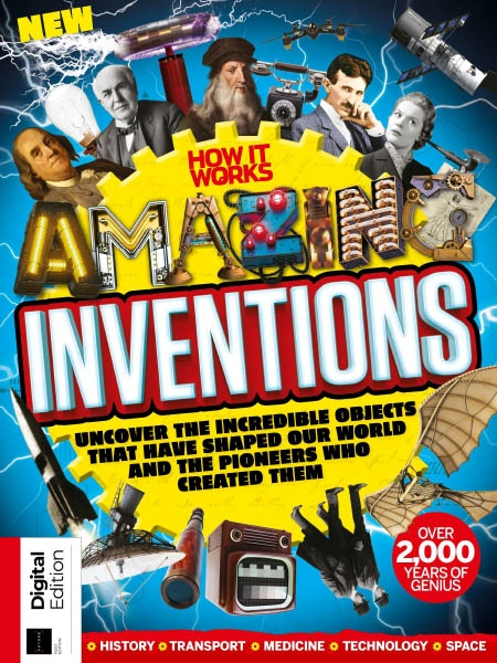 How It Works Book of Amazing Inventions Ed1 2019