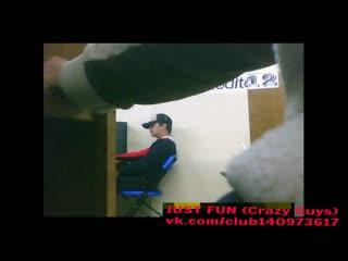 Caught in cyber chile wanker член хуй дроч cock penis wank jerk public spy