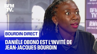 Danièle Obono face à Jean-Jacques Bourdin en direct