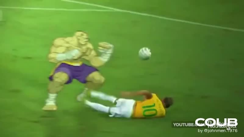 The real truth about Neymar Jr 's fracture WorldCup2014
