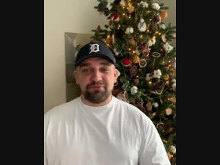 Василий Вакуленко поздравляет с Новым годом 2019