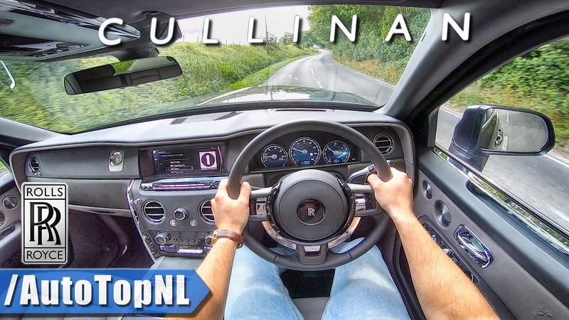 ROLLS ROYCE CULLINAN 6.75 V12 BiTurbo POV Test Drive by AutoTopNL