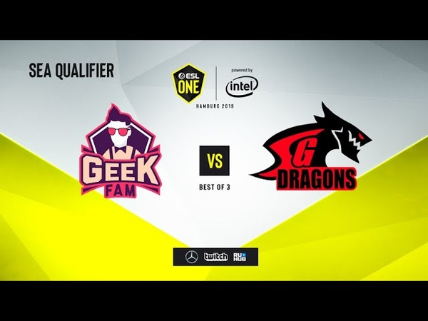 Geek Fam vs SGD, ESL One Hamburg 2019 QL, bo5, game 1 [Mortalles]