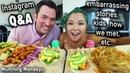 WATCH US EAT A VEGAN FEAST MUKBANG Munching Mondays Ep 32