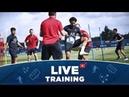 Les 15 premières minutes de l'entraînement au centre Ooredoo 📍