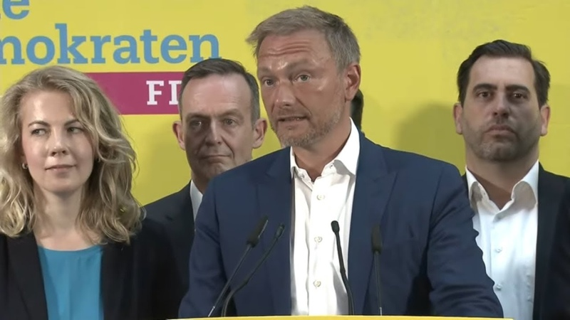 LANDTAGSWAHLEN-PLEITE Lindner enttäuscht über FDP-Wahlergebnisse