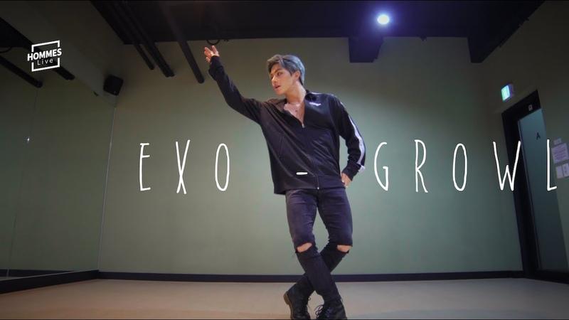 [YOUTUBE] Kang Leo 2019913 Exo - Growl (으르렁) Leo Kang (강레오) Dance Cover