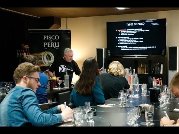 PERU Pisco Collage: la primera escuela de Pisco de Europa