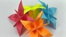 Фантастический букет цветов Лилий из бумаги поделки оригами для детей