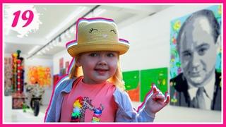 Выставка Зеленые дети Лимпопо в галерее ЗДЕСЬ на Таганке
