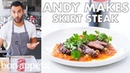 Andy Makes Skirt Steak with Romesco Sauce From the Test Kitchen Bon Appétit