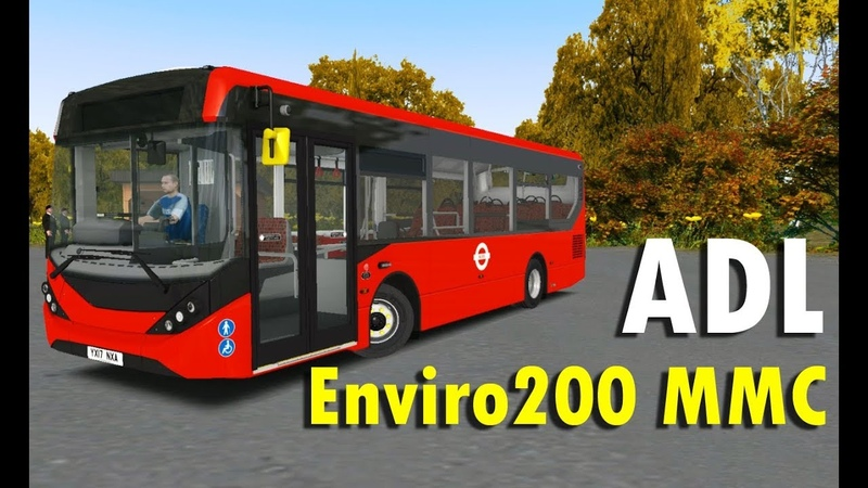 OMSI 2 mod bus ADL Enviro200 MMC 1.0 Омси 2