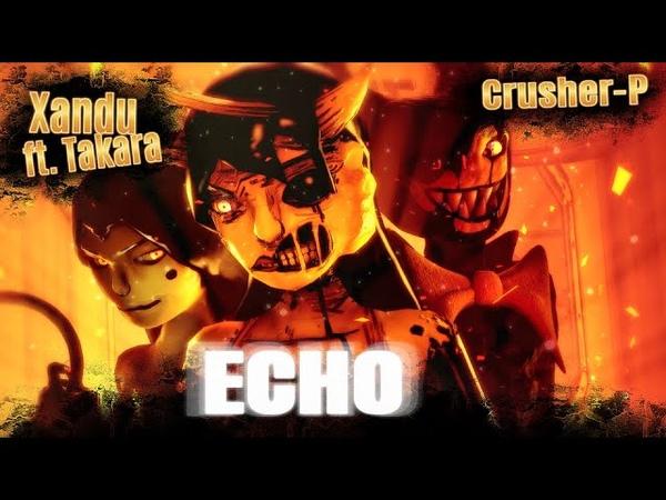 BATIM SFM  Emotions Carry Harmful Obsession  E.C.H.O. - Xandu (METAL remix ft. Takara)
