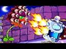 Super Fire Gatling Pea vs Dr Zomboss vs Zombies PvZ Epic Battlez