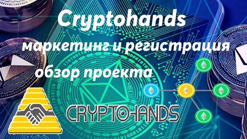 Cryptohands - обзор, маркетинг и регистрация в проекте! Начни с 10$