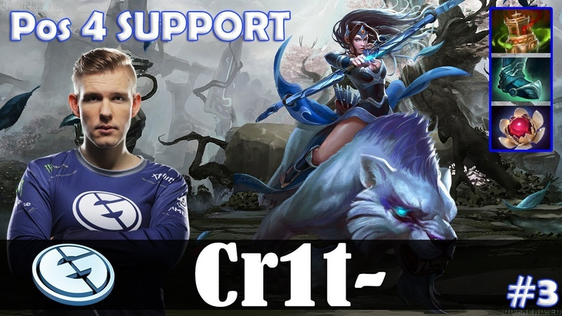 Crit - Mirana Offlane | Pos 4 SUPPORT | Dota 2 Pro MMR Gameplay 3