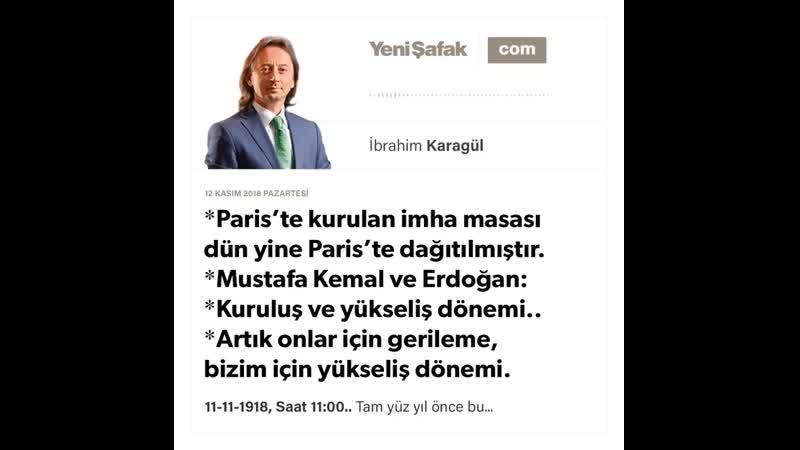 10. İbrahim Karagül - Paris'te kurulan imha masası dün yine Paris'te dağıtılmıştır... - 12.11.2018.mp4